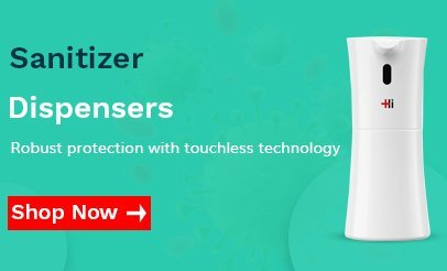 Buy Touchless hand sanitizer Dispensers India